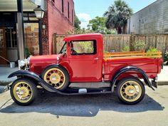 1931 Ford Pick Up up truck Antique Trucks, Vintage Trucks, Antique Cars, Old Ford Trucks, Old Pickup Trucks, Lifted Trucks, Lifted Ford, Diesel Trucks, Farm Trucks
