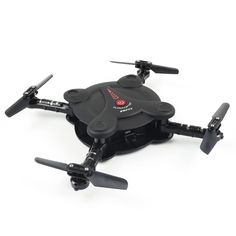 Only €33.83, black FQ777 FQ17W Mini Wifi FPV Drone Foldable Pocket RC Quadcopter - - Tomtop.com