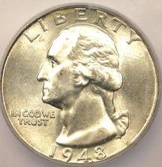 Top 25 Rare Coins | 1948 Washington Quarter 25c ICG MS67 RARE Coin ★ | eBay