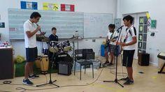 Berkeley's High School - Rock Clip1 Henri -Belgium on vocals Yuri - Russian on drums Nina - British on lead guitar Tyler - Australian on bass Berkeley international school in Bangkok Thailand