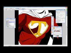 How To Flat Color In Manga Studio 5   Software Tutorials   Pinterest ...