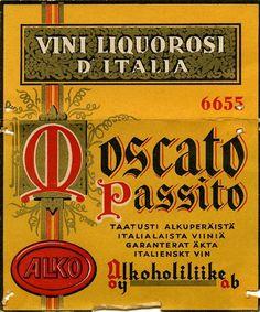 Oy Alkoholiliike Ab:n väkevät etiketit Bar Stuff, Old Ads, Bar Drinks, Old Pictures, Ancient History, Finland, Nostalgia, Abs, Spirit