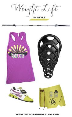 Fashion Friday: Weight Lifting in Style