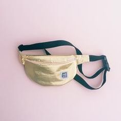 gold lamé fanny pack by ban.do x avenue dee - fanny pack - ban.do