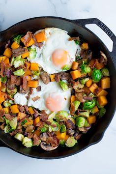 Fall Breakfast Hash. Paleo | Whole30 Whole 30 Recipes, Fall Recipes, Real Food Recipes, New Recipes, Breakfast Hash, Fall Breakfast, Whole 30 Breakfast, Healthy Breakfast Recipes, Vegetarian Recipes