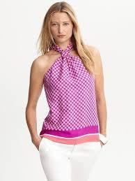 Resultado de imagen para blusas cuello alto con lazo