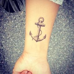27 days. But not on my arm! It has a meaning: my family is my safe place. No matter where I go or what I do I have a anchor. Also, Jesus is my anchor. He holds me to my morals and keeps me on the right track. This is right for me:)