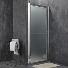 Porte de douche coulissante sensea optima 2 verre de for Porte douche breuer