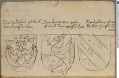 Ortenburger Wappenbuch Bayern, 1466 - 1473 Cod.icon. 308 u  Folio 229r