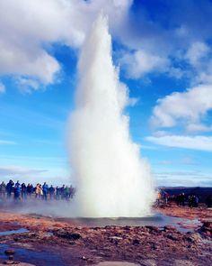 Strokkur Geyser || Iceland