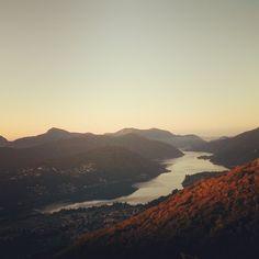 Lago di Lugano // Ticino // Cademario