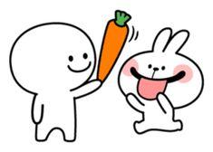 Hi, I'm Smile Person. Cute Love Gif, Love Stickers, Cute Doodles, Funny Cute, Line Store, Cute Puppies, Emoticon, True Love, Chibi