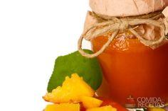 Receita de Geléia de manga e suco de laranja em receitas de doces e sobremesas…