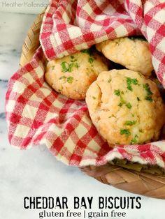 Cheddar Bay Biscuits - Gluten Free / Grain Free -