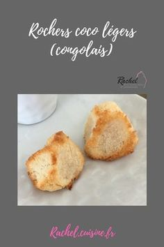 Rochers coco légers ou congolais Rocher Coco Thermomix, Sweets Cake, Cornbread, Love Food, Nom Nom, Food And Drink, Healthy Recipes, Healthy Food, Cookies