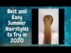 There are things you definitely must do in the summer--like jump in a lake, indulge in gelato, drive with the top down. And then there are things you want to avoid ... Super Easy Hairstyles, Easy Everyday Hairstyles, Easy Summer Hairstyles, Cool Hairstyles, Bold Hair Color, Hot Hair Colors, Hair Color For Women, Ponytail Hair Extensions, Ponytail Extension