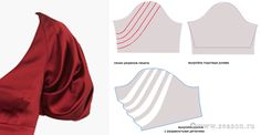 Patternmaking - pattern cut a sleeve Clothing Patterns, Dress Patterns, Sewing Patterns, Techniques Couture, Sewing Techniques, Sewing Clothes, Diy Clothes, Formation Couture, Sewing Sleeves