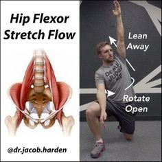 "13k Likes, 548 Comments - Dr. Jacob Harden (@dr.jacob.harden) on Instagram: ""IMPROVE YOUR HIP FLEXOR MOBILITY Yesterday I showed you a common hip flexor stretch that most…"""