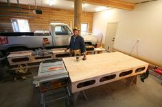 The Paulk Workbench and Miter Stand- built by Michael