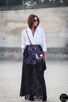30 Ways to Reinvent Your Maxi Skirt RightNow | StyleCaster