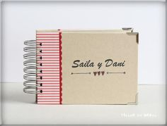 Album para los recién casados Just Married, Mini Albums, Atelier, Paper Envelopes