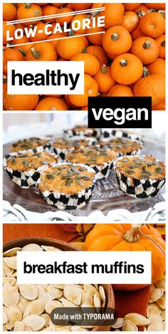 A delicious low-calorie vegan breakfast muffin recipe that takes just 15 minutes to bake! This quick and easy recipe only uses whole-foods and is perfect for a vegan looking for a delicious breakfast snack or a mom on-the-go looking to provide her kids with a wholesome snack!