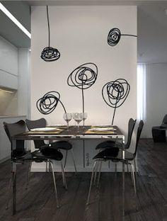 Decora lo que quieras...: Vinilos para decorar tu sala comedor... buenísima opción!!!
