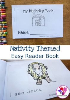 Christmas Activities For Kids, Preschool Christmas, Christmas Crafts For Kids, A Christmas Story, Preschool Crafts, Preschool Bible, Christmas Nativity, Christmas Bells, Christmas Printables