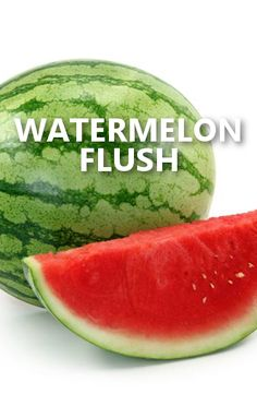 Dr Oz says the best way to flush water and get rid of salt is by eating Watermelon, Kiwi, or Celery. http://www.drozfans.com/dr-oz-diet/dr-oz-seaweed-blocks-fat-spicy-tomato-juice-burns-calories/