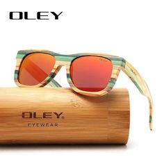 Bamboo Sunglasses Polarized Mirror Full Frame Wood Handmade Orange – fingla.com Best Mens Sunglasses, Sunglasses Price, Polarized Sunglasses, Mirrored Sunglasses, Sunglasses Case, Sunglasses Women, Heart Shaped Sunglasses, Fashion Eye Glasses, Eyewear