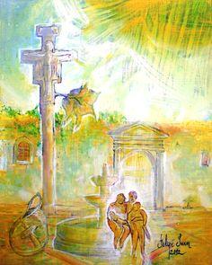 Una ilustración del Poemario dedicado a Telde.3