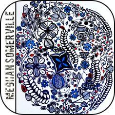 Zentangle art by FrameBoutique, Meghan Somerville