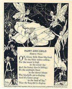 Fairy & Child Stories For Kids, Kids Story Books, Fairy Land, Fairy Tales, Elfen, Flower Fairies, Vintage Fairies, Kobold, Versos