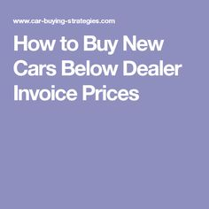 Honda Pilot Prices MSRP Invoice Holdback Dealer Cost - New car dealer invoice vs msrp