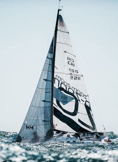 MAZDA Squalo Bianco, sailing in heavy weather