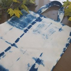 Sustainably sourced bamboo hand dyed with indigo. Fun, fresh and available at https://www.etsy.com/au/shop/Grafeeq