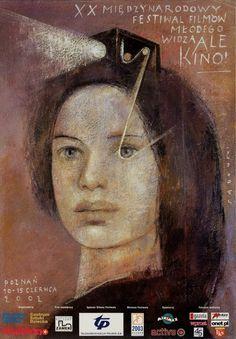 International Film Festival Ale kino, 20-ty Sadowski Wiktor Polish Poster
