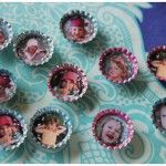 Picture Bottle Cap Magnets - Eco-friendly, kid-friendly and oh so simple.