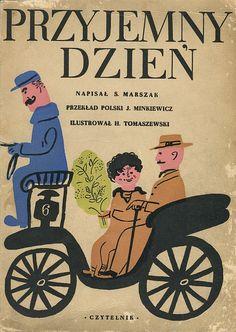 'Przyjemny dzień', cover by Henryk Tomaszewski.