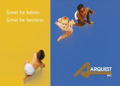 Corporate brochure for Arquest, courtesy of Mab:co.