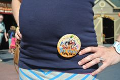 Baby's first visit....cute Disney way to announce pregnancy too if not showing yet....