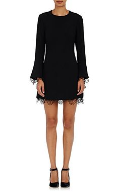 We Adore: The Cutwork Lace-Trimmed Crepe Dress from A.L.C. at Barneys New York