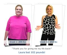 Laura's #weightloss #success story! At only 28 yrs old, I was morbidly obese with extremely high blood pressure. My doctor referred me to Medi-Weightloss Clinics®. During the next nine months, I lost over 100 pounds! † Medi taught me healthy eating habits, the value of exercise, and the importance of living a healthy lifestyle. The benefits of being healthy have been priceless! I have the energy to play with my kids. I am happier, more confident in myself, and I even started my own business!