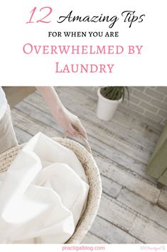 When you are overwhelmed by laundry, there are things you can do to alleviate some of the burden. Use these laundry tips to make some necessary changes. Laundry Schedule, Doing Laundry, Laundry Hacks, Washing Towels, Washing Clothes, Minimal Living, Simple Living, How To Fold Underwear, Laundry Area