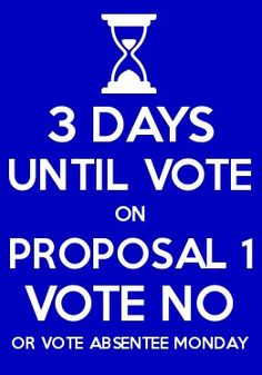 """Vote """"NO"""" on Tuesday! PLEASE SHARE!"""