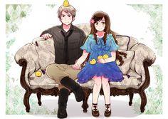 Prussia and Hungary Hungary Hetalia, Spamano, Go Wallpaper, Hetalia Axis Powers, Art Archive, Anime Shows, Anime Naruto, Anime Couples, Creatures