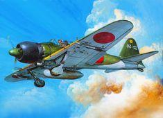 Mitsubishi A6m type 52 Zero