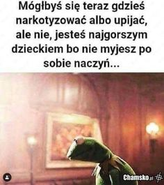 Kermit, Wtf Funny, Hilarious, Polish Memes, Sad Texts, Funny Mems, I Cant Even, I Don T Know, Best Memes
