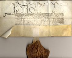 Royal letters patent of King Henry VI, granting the deanery of St Buryan to King's College following the death [or resignation] of Peter Stucle. The Great Seal of Henry VI is attached.  11 November 1445