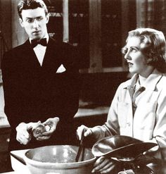 """""""What do you think I am, a goop?"""" --You Can't Take It With You.  LOVE Jimmy Stewart and Jean Arthur."""